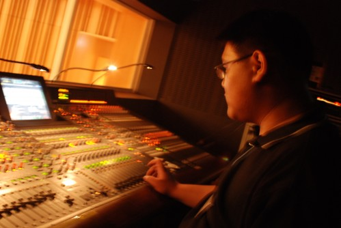 Giant Yamaha pm1d Mixer at Republic Polytechnic Cultural centre